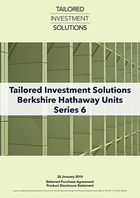 Tailored Investment Solutions Berkshire Hathaway Series 6 PDS
